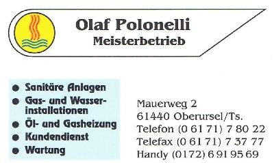 Sanitär Oberursel firma olaf polonelli sanitär heizung